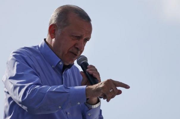 Erdoğan T.C.nin 1. Devlet Başkanı