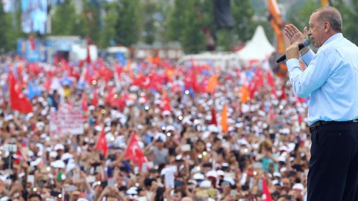 """Erdoğan:""""En baba mitingimiz"""""""