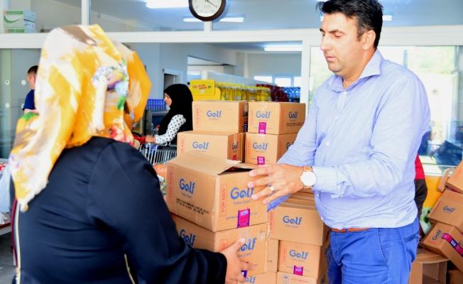 Gıda Bankası'nda Serinleten Yardım