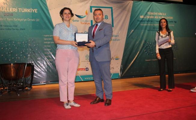 Kadıköy'e yılın kültür şehri ödülü