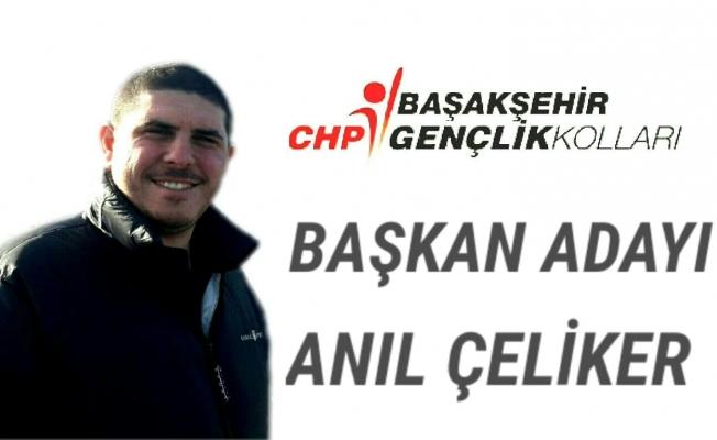 Anıl Çeliker  CHP Başakşehir Gençlik Kollarına Aday