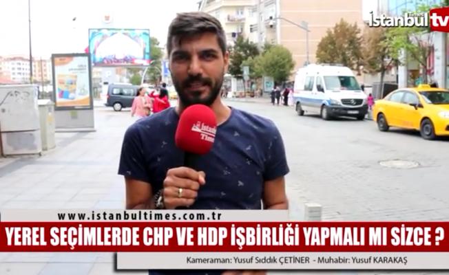 CHP ve HDP yerel seçimlerde ittifak yapmalı mı?