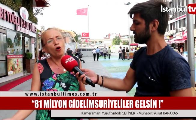 Vatandaştan Erdoğan'a Suriyeliler tepkisi