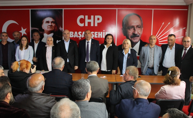 Abdulhadi Akmugan CHP Başakşehir'de ilk aday adayı oldu