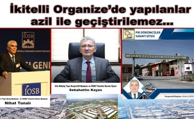 İkitelli Organize'de yapılanlar azil ile geçiştirilemez…
