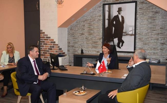 Kardeş Belediye Razgrad'tan Avcılar'a Ziyaret