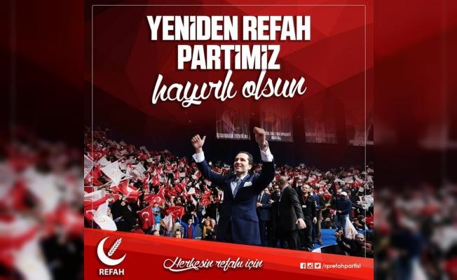 Fatih Erbakan Yeniden Refah Partisini kurdu