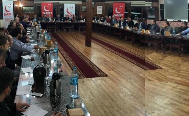 Zeytinburnu Saadet Partisi A takımını belirledi