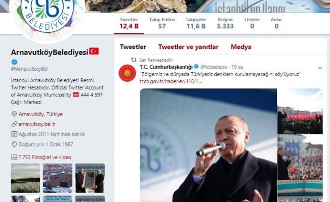 Arnavutköy Belediyesi Sosyal Medyayı Salladı
