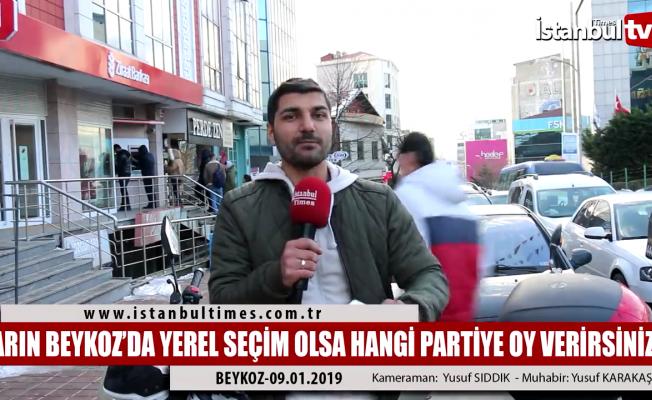 Beykoz'da yerel seçimin nabzı