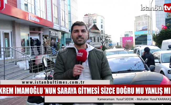 Ekrem İmamoğlu'nun Beştepe'ye gitmesi
