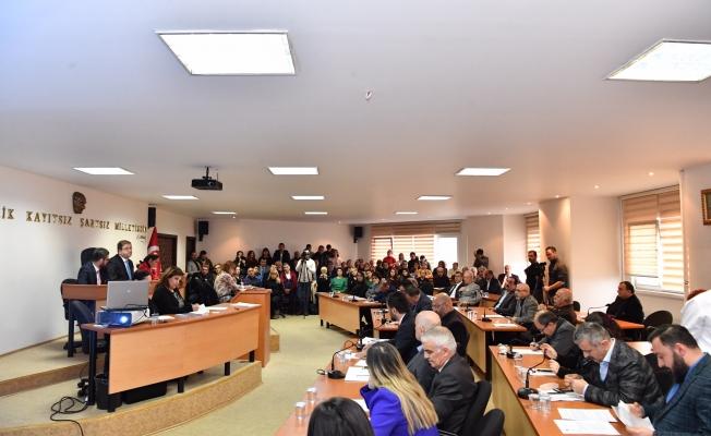 Maltepe'de Belediye Meclisi yeni yılın ilk toplantısını gerçekleştirdi