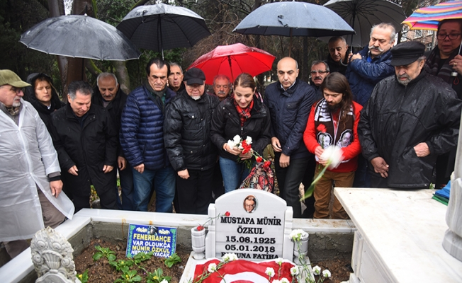 Mustafa Münir Özkul  Kabri başında anıldı