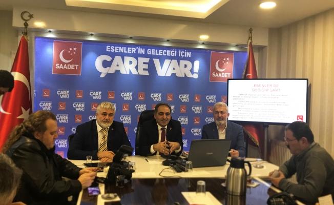Saadet Esenler Belediye Başkan Adayını Açıkladı