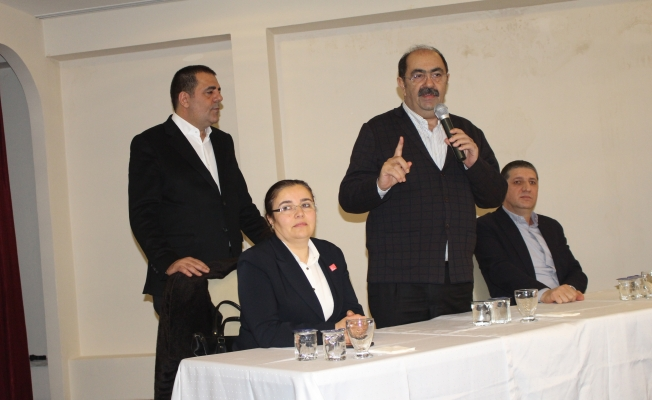 Çapan'dan  Bozkurt'a Destek Toplantısı