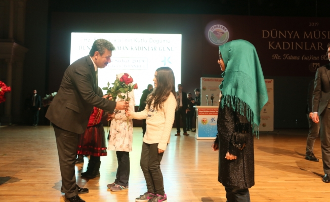 Küçükçekmece Belediyesi Dünya Müslüman Kadınlar Günü programına ev sahipliği yaptı