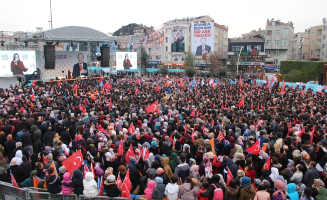 Erdoğan Zeytinburnu Meydanı bu iş tamam diyor dedi
