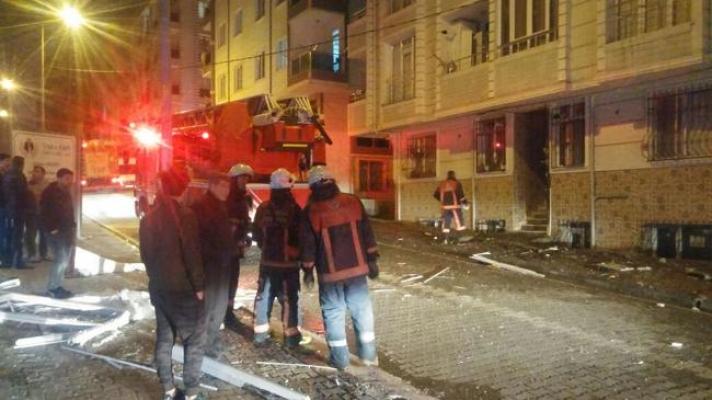 Esenyurt'ta iş yerinde patlama: 1 işçi ağır yaralandı