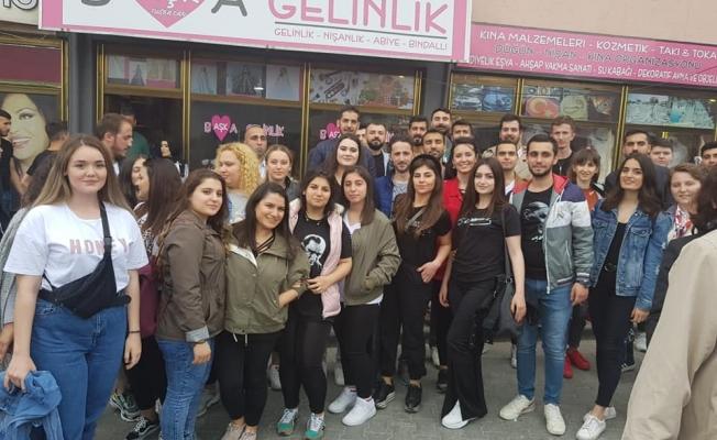 CHP Zeytinburnu Gençlik Kolları Samsun'da