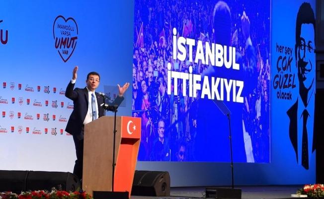 Ekrem İmamoğlu: Biz 16 milyon İstanbullu,  23 Haziran'da emaneti geri almaya geliyoruz…
