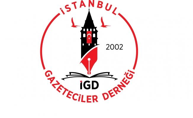 İstanbul Gazeteciler Derneğinden Kınama