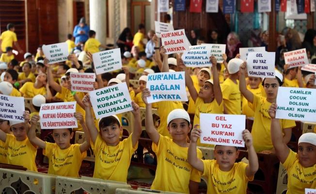 Bağcılar'da Yaz Kur'an Kursları renkli bir açılışla başladı