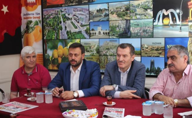 Başkan Arısoy ve Delibalta' dan Malatyalılara Ziyaret