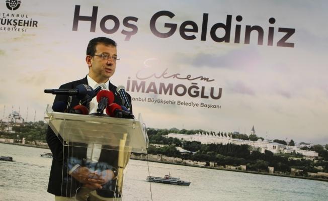 İmamoğlu  İYİ Partililer ve İstanbul Gönüllüleri ile yemekte bir araya geldi