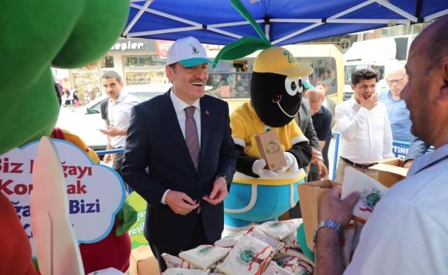 Zeytinburnu'nda Çevre Haftası Etkinliği