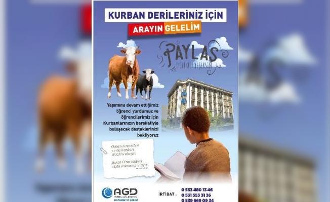 AGD'den Kurban Bağışı Organizasyonu