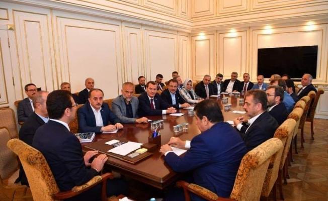 Ak Partili Başkanlardan İmamoğlu'na Ziyaret
