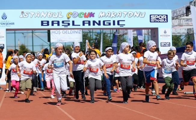 "İstanbul Çocuk Maratonu ""DÜNYA REKORU""NA Sahne Oldu"