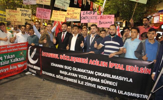 Yeniden Refah Partisi :İstanbul Sözleşmesi Acilen İptal Edilsin