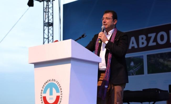 İmamoğlu ;Trabzon Günlerinde Konuştu