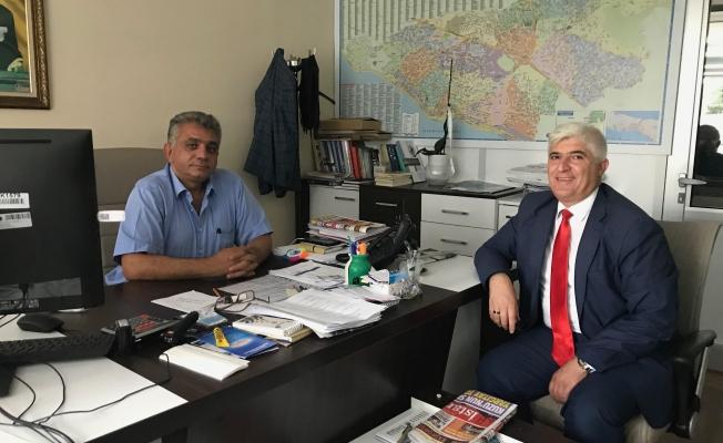 Kartal Belediyesi Basın Müdürünü Ziyaret Ettik