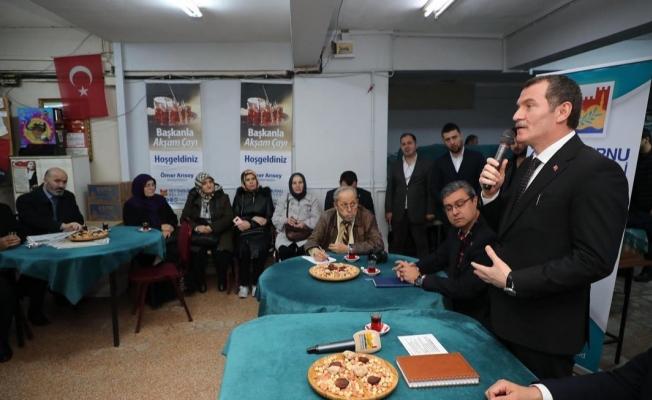 """Başkan Arısoy; """"Zeytinburnu'nun Dönüşümü İçin Var Gücümüzle Çalışıyoruz"""""""