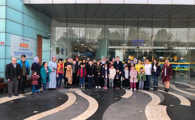 Esenyurt Belediyesi'nden Özel Eğitim Öğrencilerine Kültür Gezisi