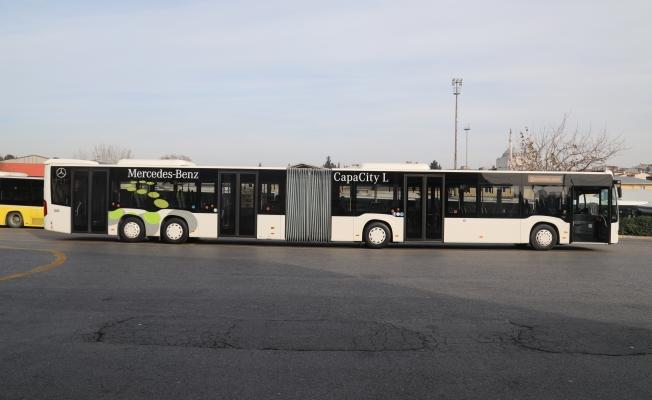 Metrobüs Hattında Yeni Test Aracı