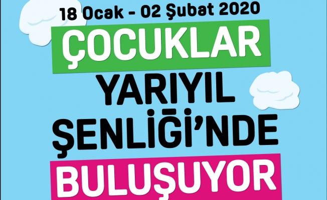 Çocuklar Yarıyıl Şenliği'nde Kadıköy'de Buluşuyor