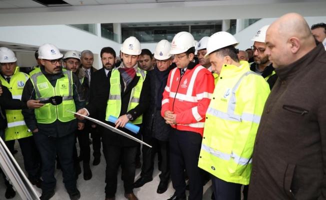 """İmamoğlu : """"Kanal İstanbul Projesi, 'Ben Yaptım , Oldu ' Projesi O-LA-MAZ !"""""""