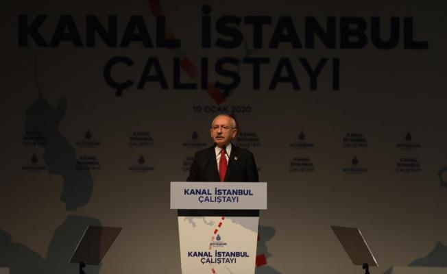 """Kılıçdaroğlu'ndan Erdoğan'a """"Kanal İstanbul"""" Çağrısı: """"İBB Başkanı'mız Hazır; Kentsel Dönüşümü Yapalım"""""""