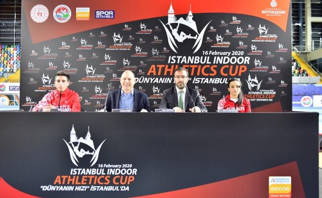 Atletizmin Kalbi İstanbul'da Atacak 'Dünyanın Hızı İstanbul'da'