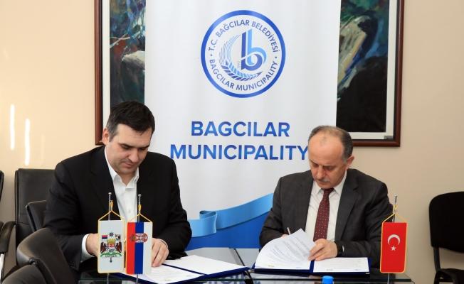 Bağcılar ile Kragujevac Belediyesi arasında işbirliği protokolü imzalandı