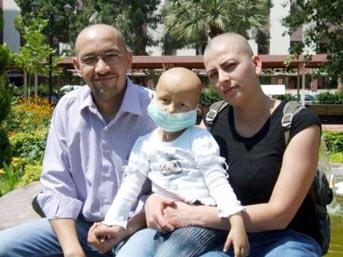 'Kızım kanser değil saçını pireler yedi!'