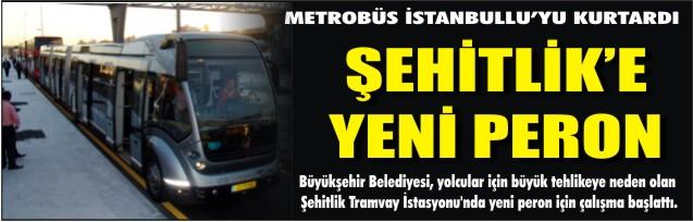 METROBÜS İstanbullu'yu KURTARDI