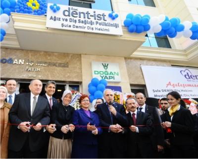 Ağız ve Diş Sağlığı Merkezi dent-ist Fatih'te açıldı.