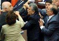 Meclis'te yumruklar konuştu !
