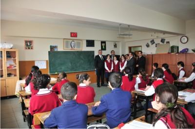 Başkan Genç'ten öğrencilere meslek dersi…