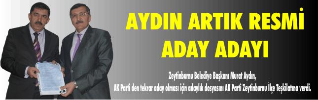 AYDIN ARTIK RESMİ ADAY ADAYI-VİDEO-