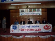 Türk Futbolunun Gelişimi paneli